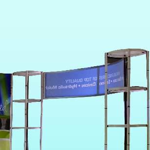Folding Column Booth