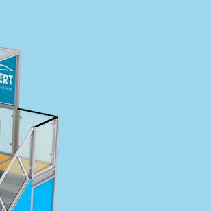 Frameless SEG Booth