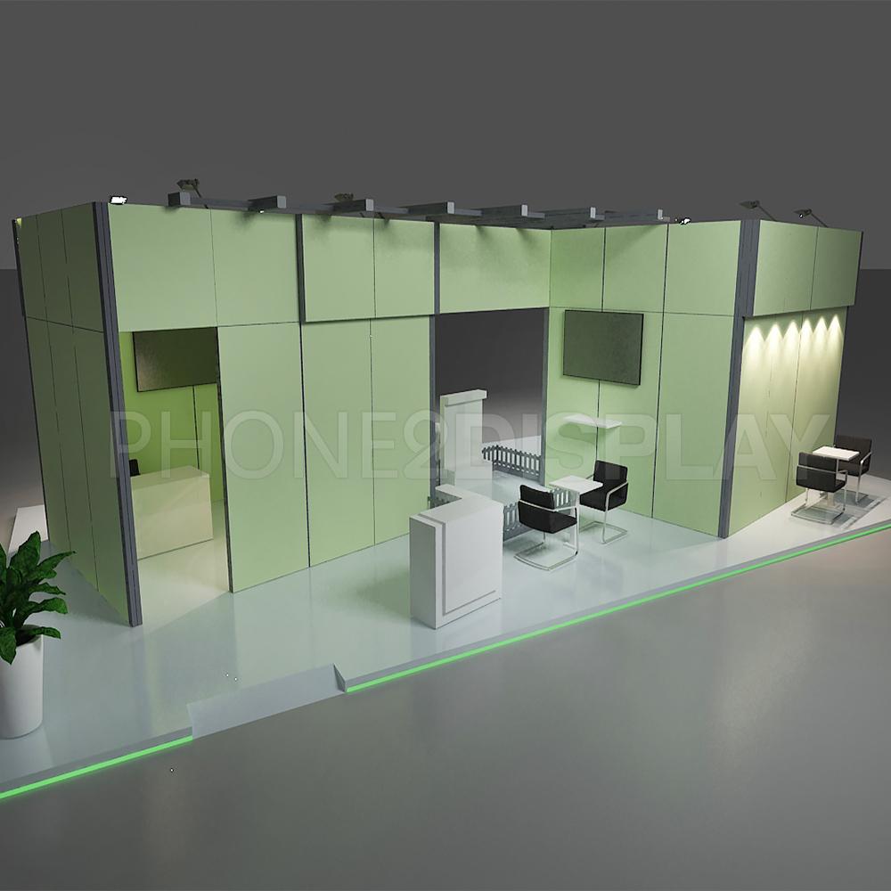 Modular portable booth